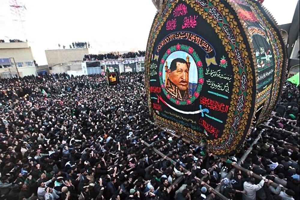 El Ausente recibe el tributo de la feroz dictadura Iraní