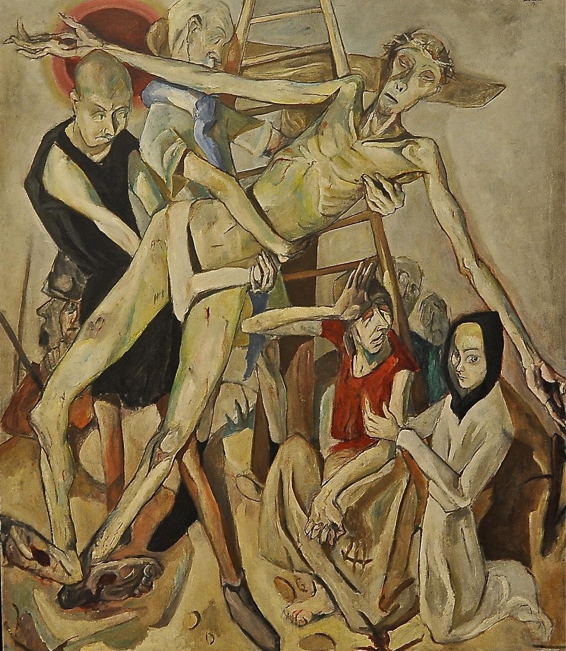 Descendimiento de la Cruz de Max Beckmann (1884-1950) MOMA New York. Foto de Oscar Tenreiro