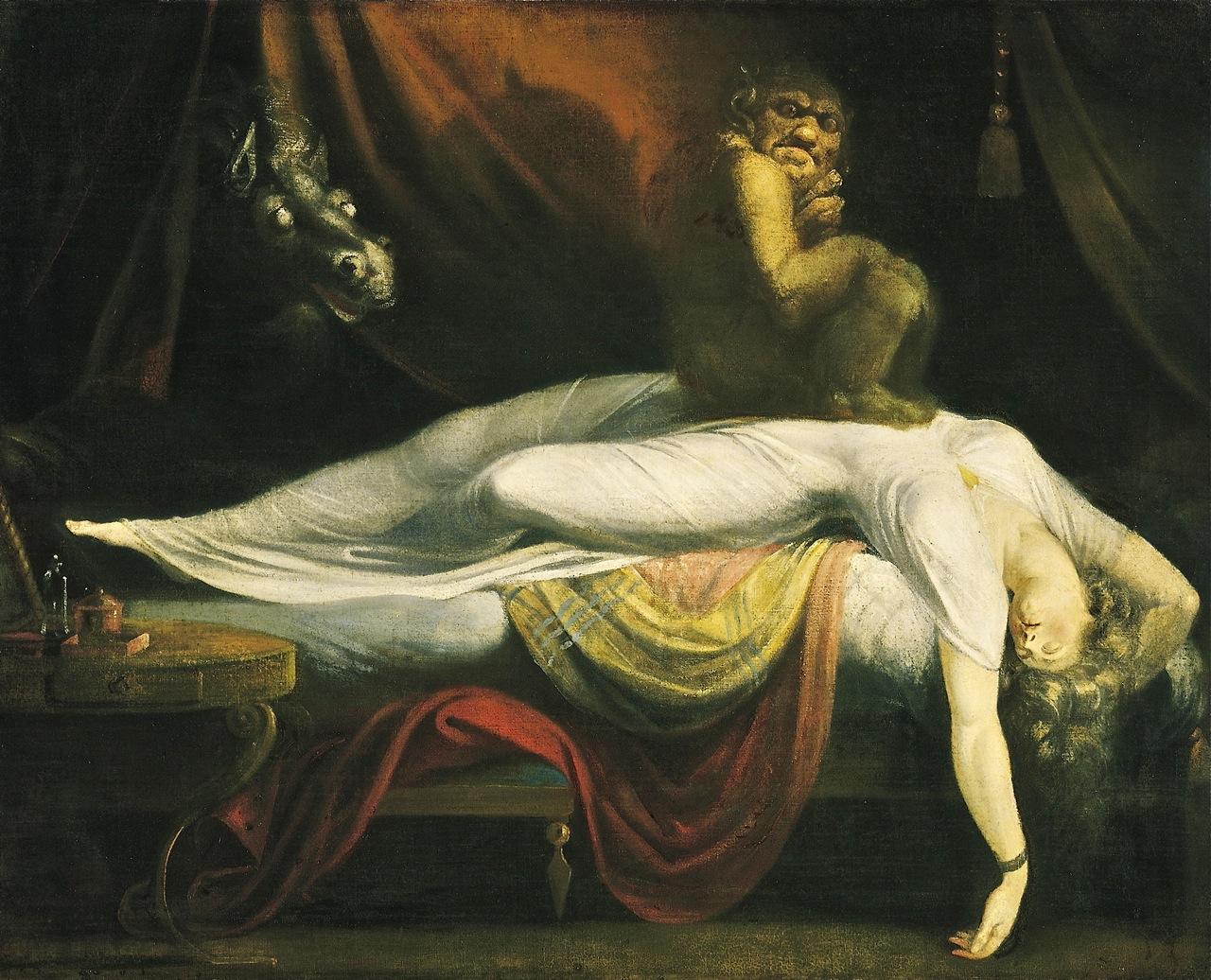 """""""La Pesadilla"""" de Johann Heinrich Füssli (o Fuseli) de 1781"""