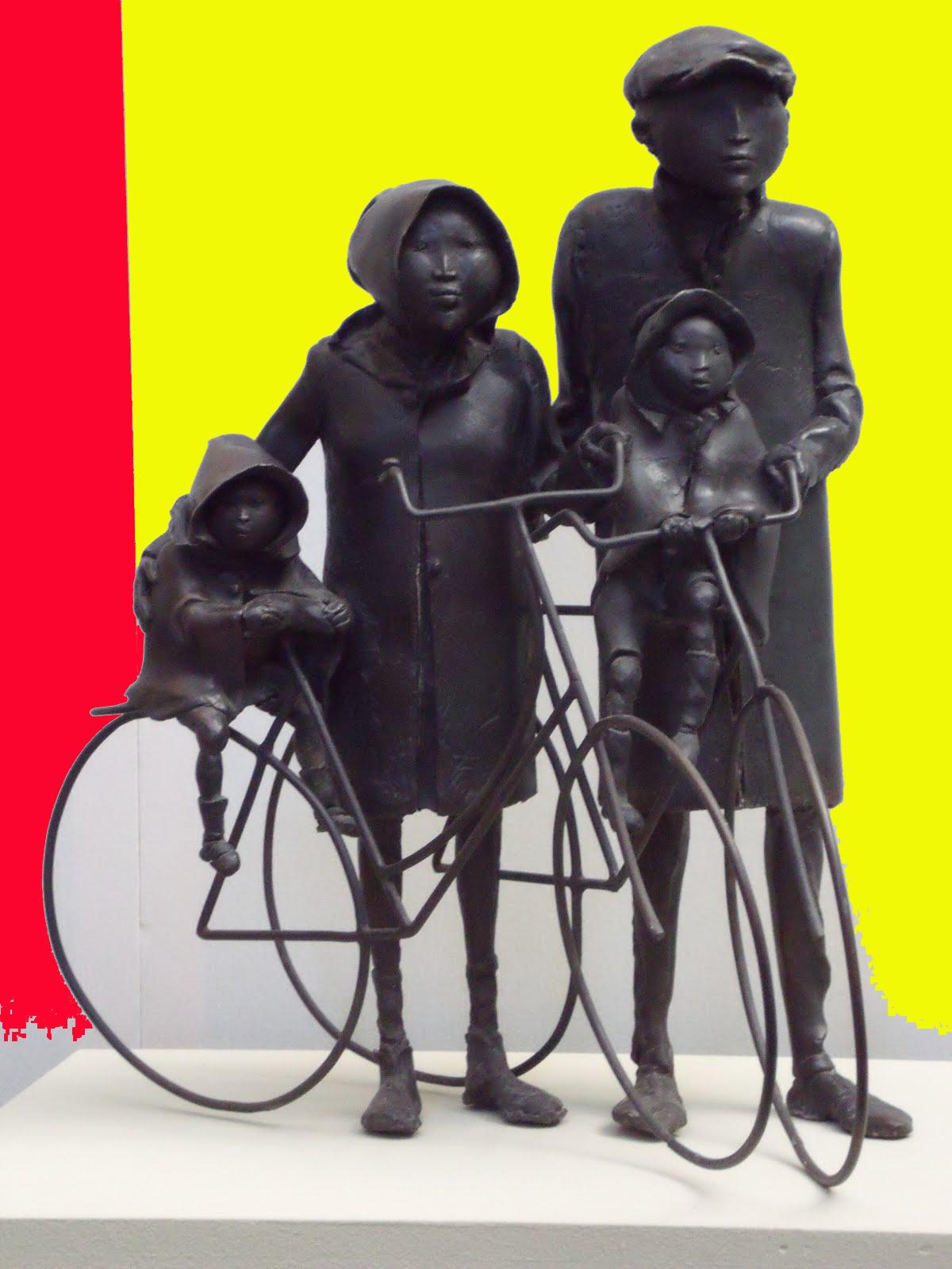 Familia y bicicletas-Zitman
