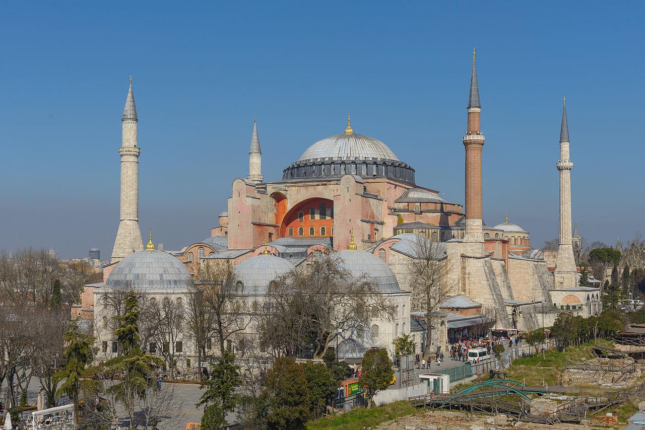 Exterior de Hagia Sophia en