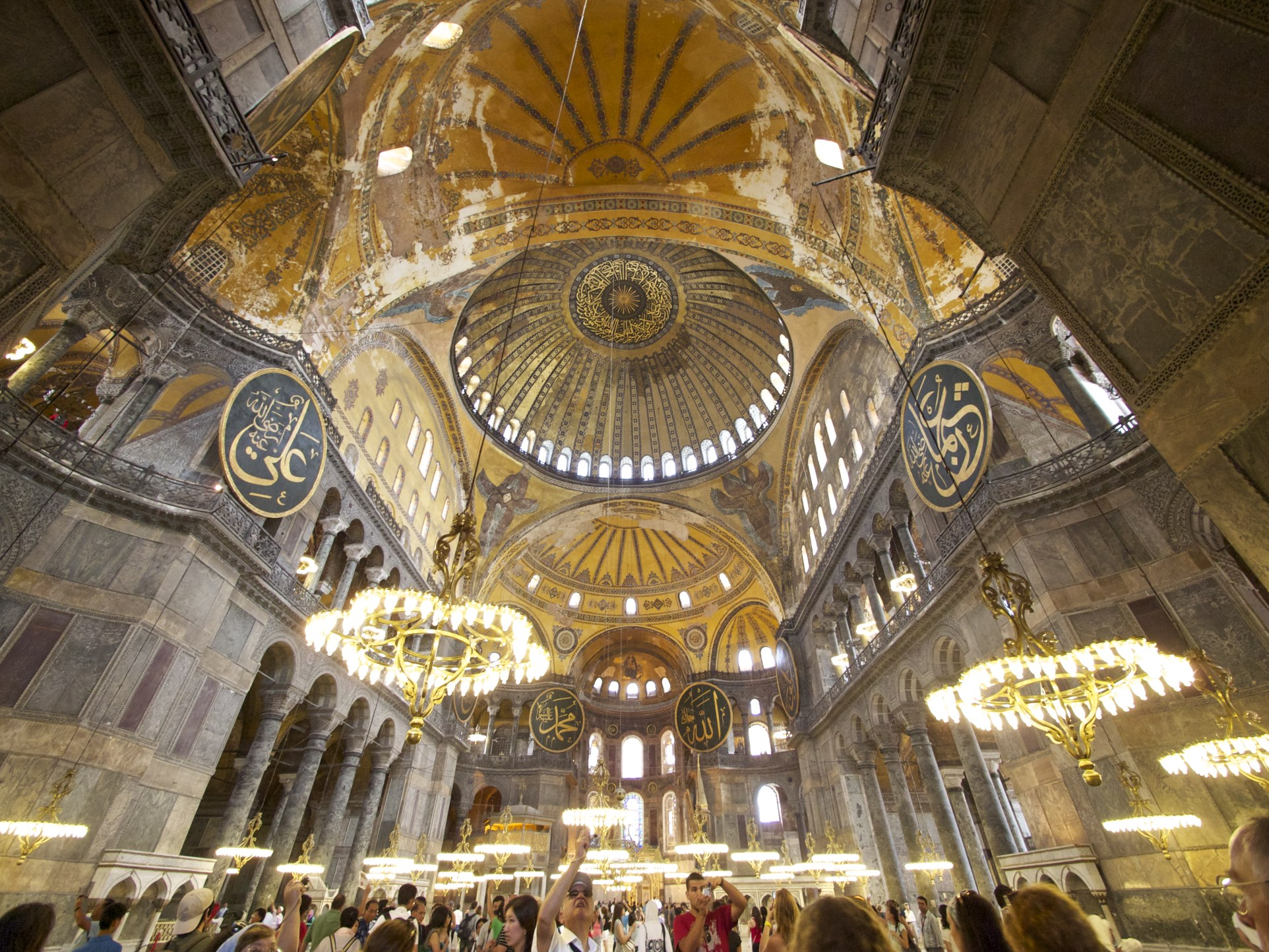 Tres cosas sobre Hagia Sophia