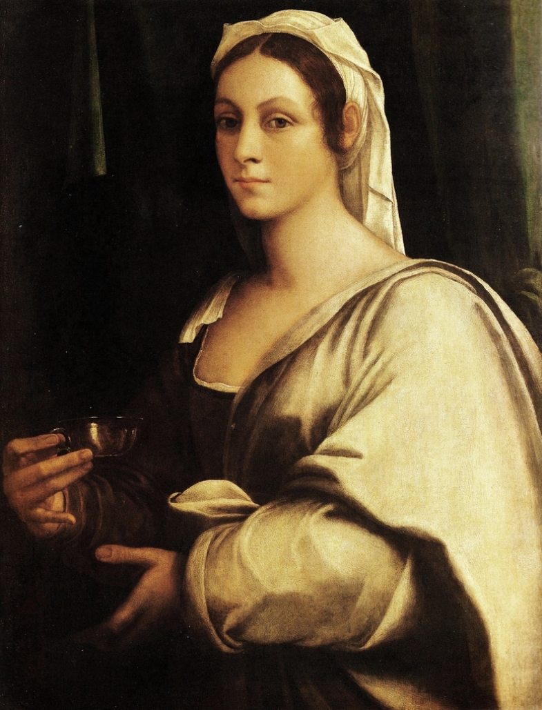 1.Vittoria Colonna por Sebastiano del Piombo (1485-1547), gran amigo de Miguel Ángel