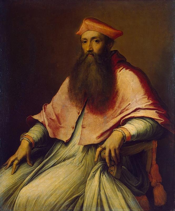3. Retrato del Cardenal Reginald Pole