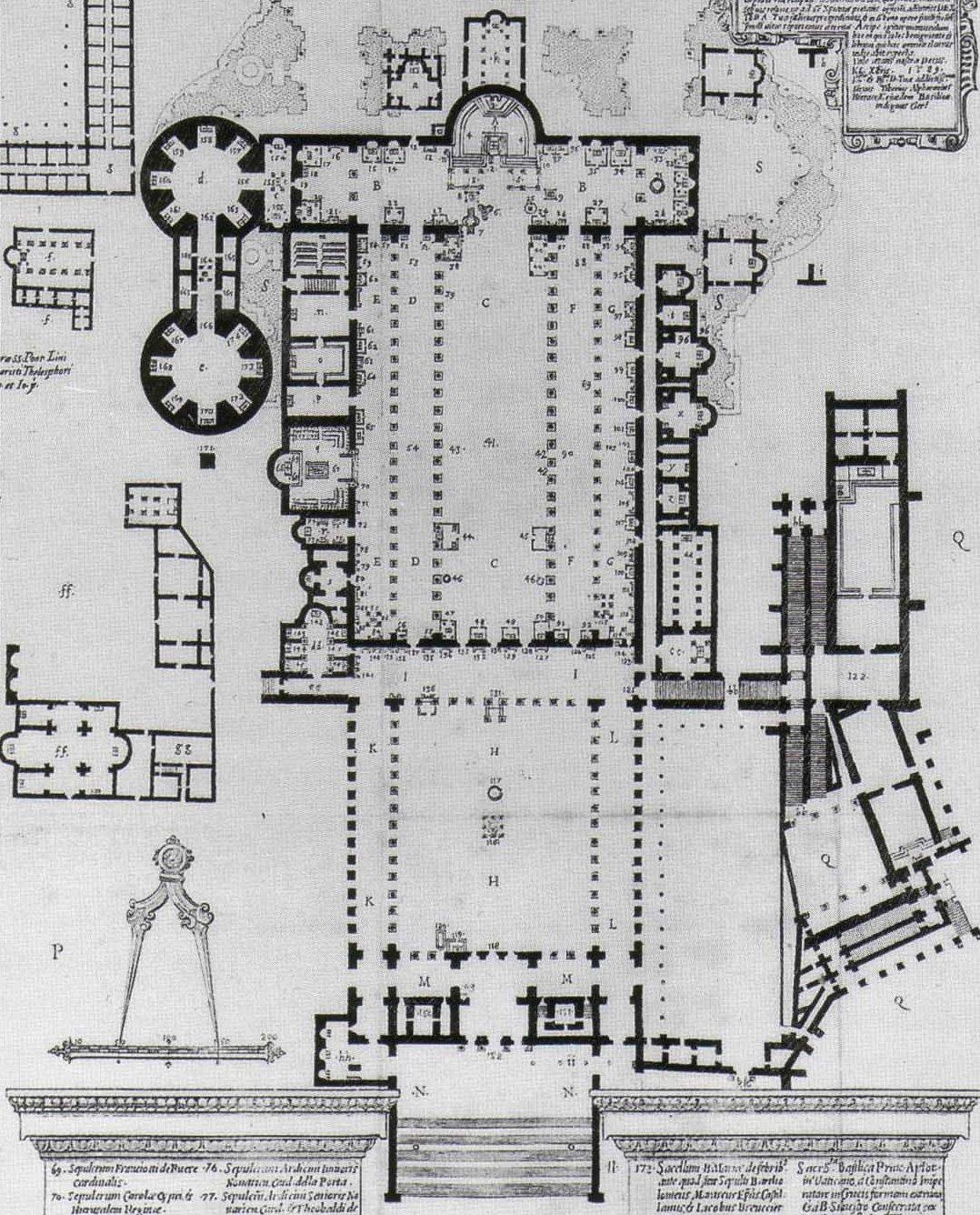 10. Planta de la Basilica de Constantino
