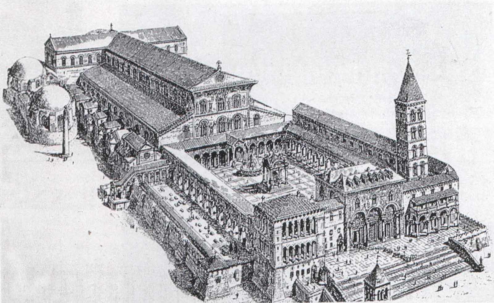 7. Antigua Basílica de Constantino