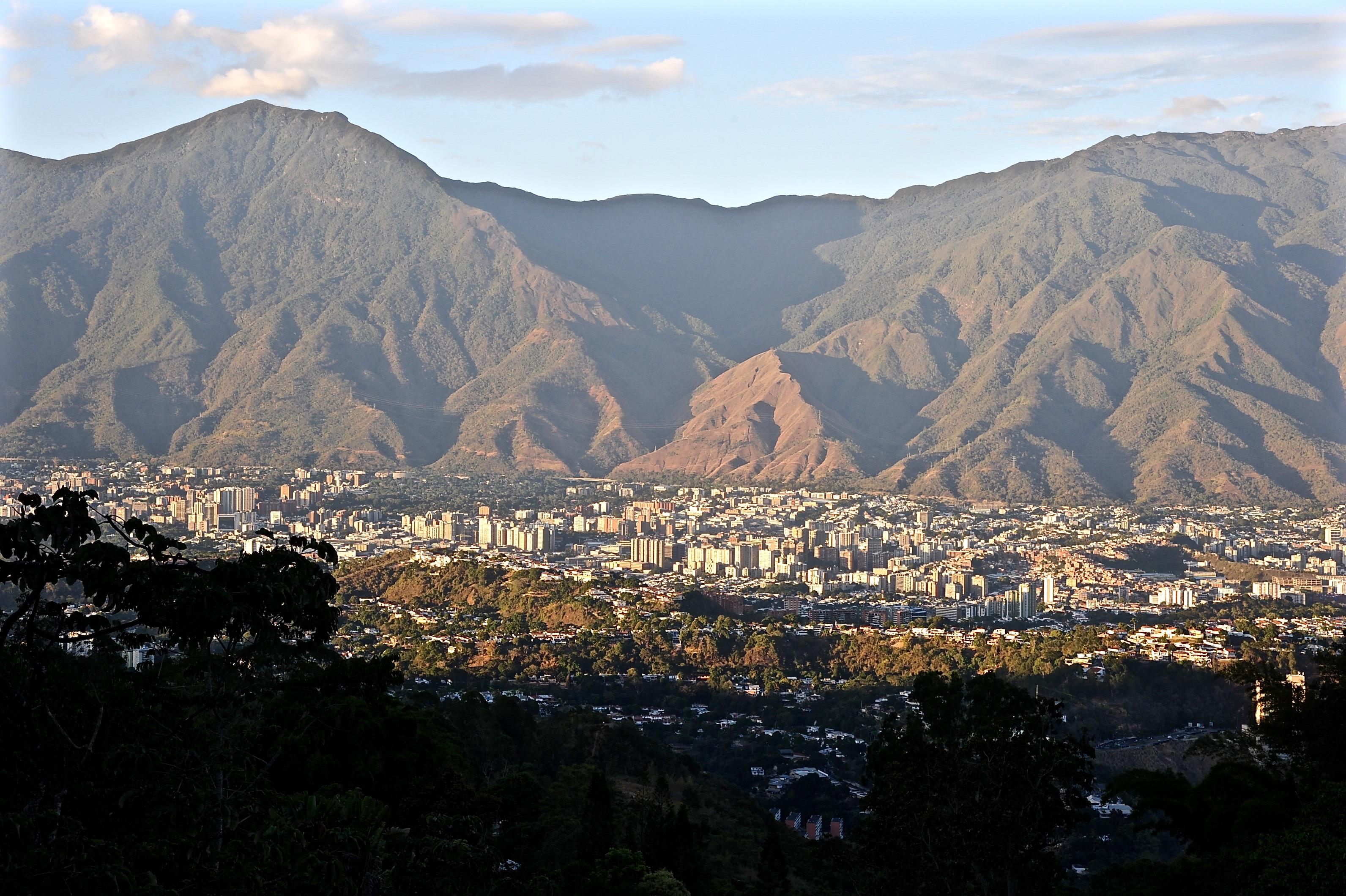 Caracas hoy en la tarde