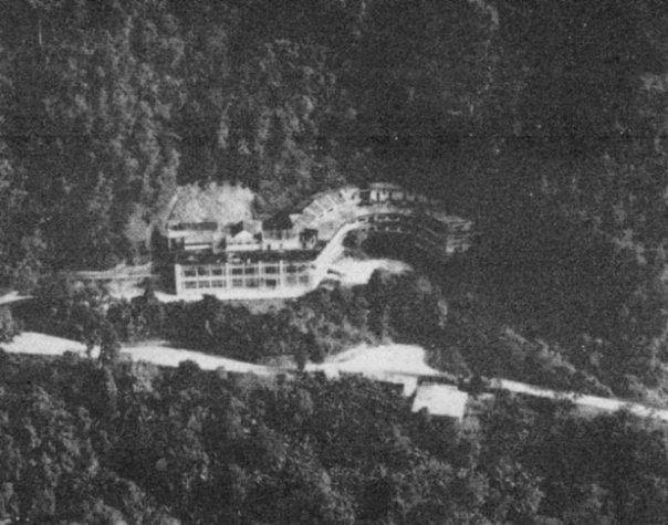 Hotel Rancho Grande en tiempos cercanos a su construcción