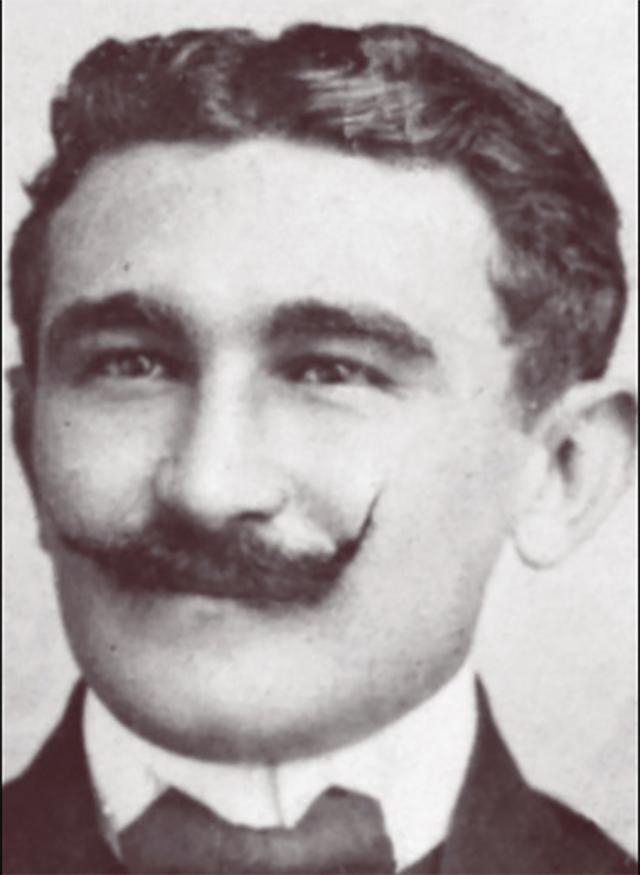 Cecilio (Chío) Zubillaga Perera en sus tiempos de estudiante en Caracas. No terminó sus estudios. Fue un autodidacta.
